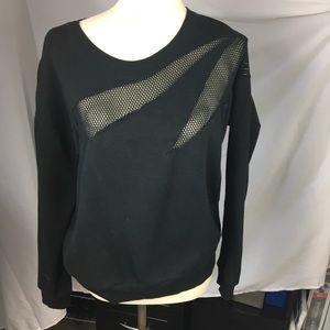 Fabletics Black Sweatshirt - Large (EUC)